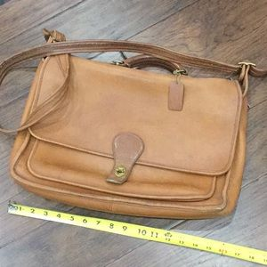 Coach Messenger Briefcase Bag